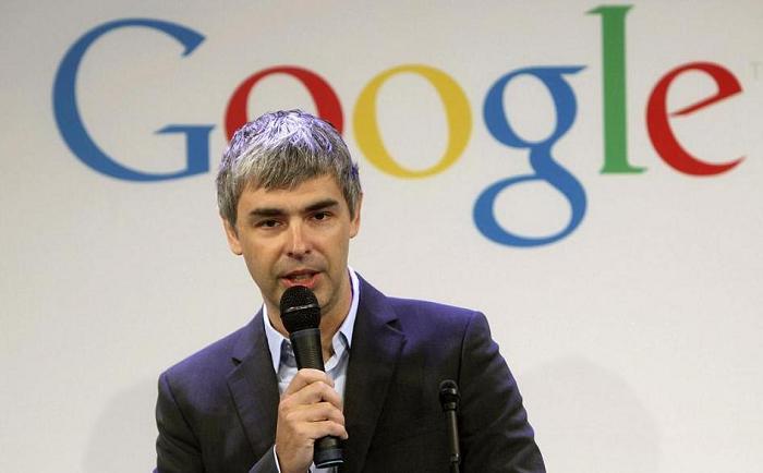 谷歌公司的创办创建人佩奇