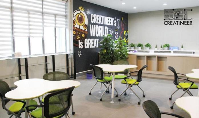 星智汇创客空间是国内首家机器人创客空间