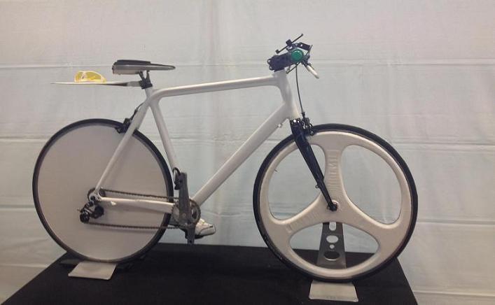 3D打印自行车