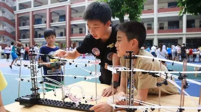 小学1-3年级的创客课程:STEAM课程云霄飞车