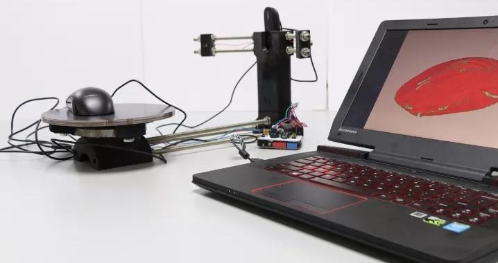 最新创客作品:Ciclop 3D扫描仪