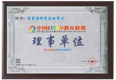 中国STEAM教育联盟授牌名单