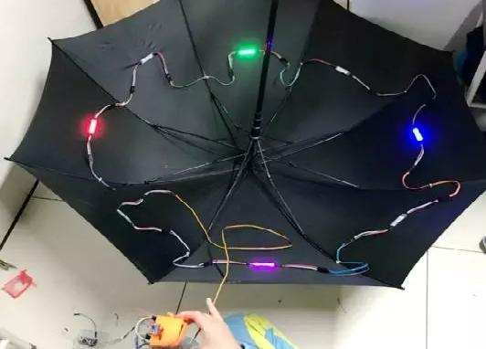 能辨别方向的伞