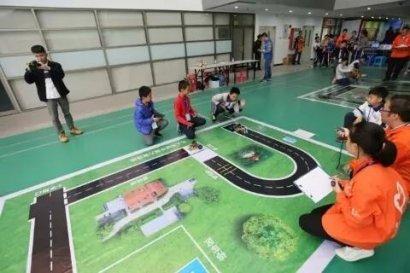 清城区青少年宫参加广东省青少年校外教育创客