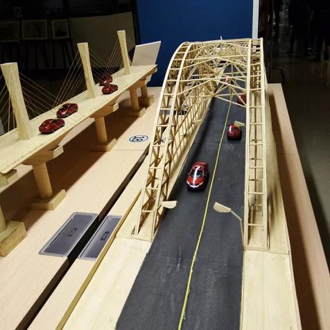 桥梁设计类创客作品