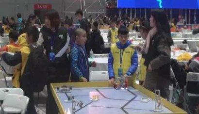 江西省铅山学子在世界教育机器人大赛(WER)创