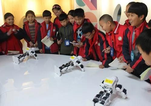 温州市学生实践科技教育联盟学校的一次创客体验