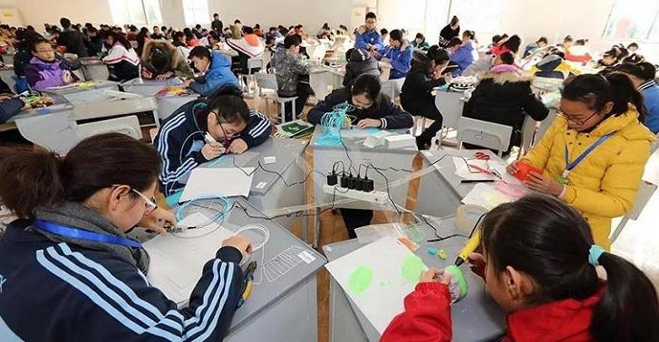 江苏无锡梁溪区举行校园创客节暨中小学创客大赛