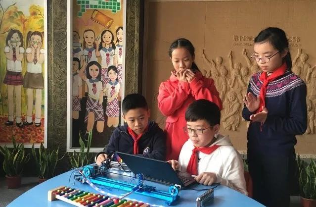 杭州市刀茅巷小学小创客亮相创客嘉年华