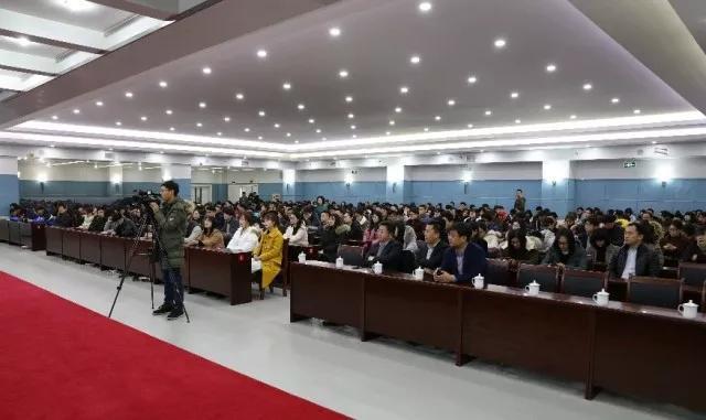 歌尔创客学院助力荣成学子回乡发展推介会活动成功举办