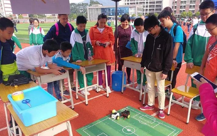 玩创研学中国教育体验中心参展图片