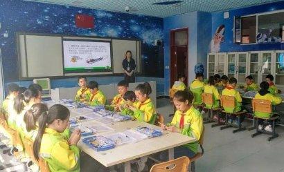 山西太原杏花岭职工新街小学的创客教育