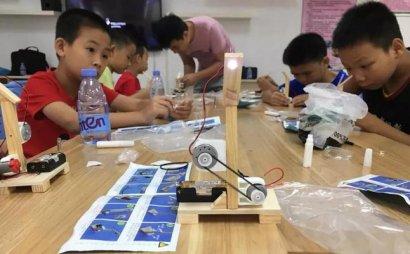 儿童创客教育悄然升起