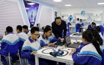 甘肃省临泽县稳步推进中小学创客教育