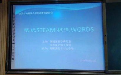 陕西省西安市高陵区举办STEAM研讨会