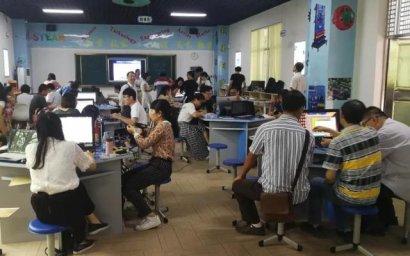 广东省佛山市高明区举行创客教育培训活动